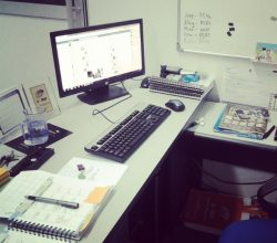 workspace at office