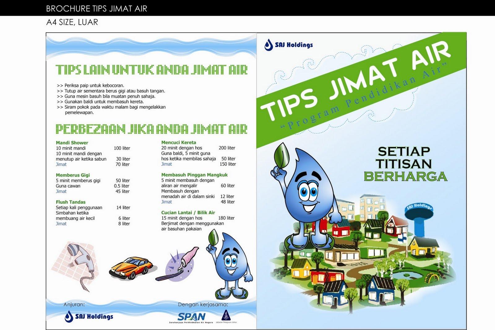 Cara Menjimatkan Air Di Dalam Atau Sekitar Rumah Mohd Isa